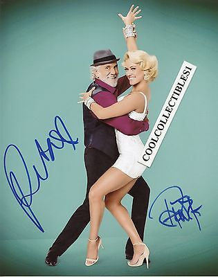 Tommy Chong   Peta Murgatroyd  Dwts  Hand Signed 8X10 Color Photo   Proof