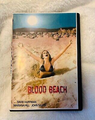 Happy Halloween Horror Movie (Blood beach dvd vhs transfer rare 80's horror movie (🤣 Happy)