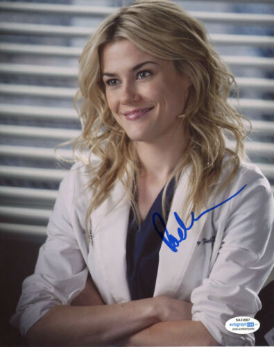 """Rachael Taylor """"Grey's Anatomy"""" AUTOGRAPH Signed 'Dr. Lucy Fields' 8x10 Photo"""
