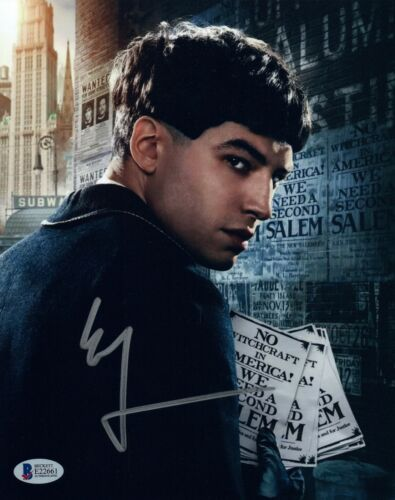 Ezra Miller Signed 8x10 Photo FANTASTIC BEASTS & WHERE TO FIND THEM Beckett COA