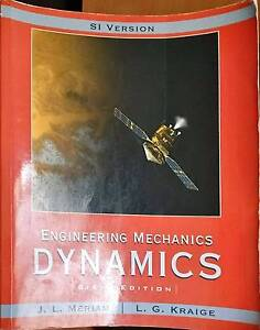 J.L.Meriam - Engineering Mechanics Dynamics 6th ED (SI version) Maroubra Eastern Suburbs Preview
