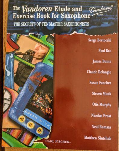 Vandoren Etude and Exercise Book for Saxophone