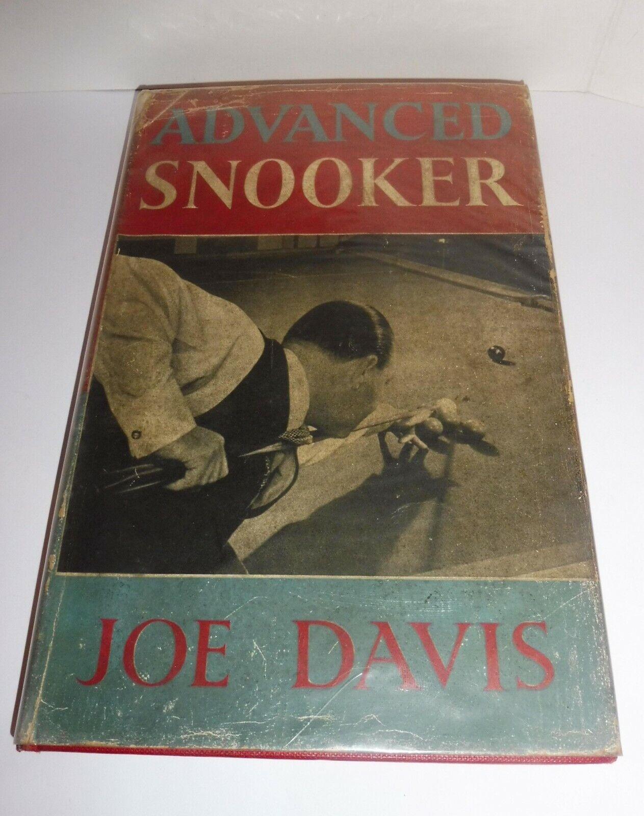 ADVANCED SNOOKER BY JOE DAVIS VERY RARE