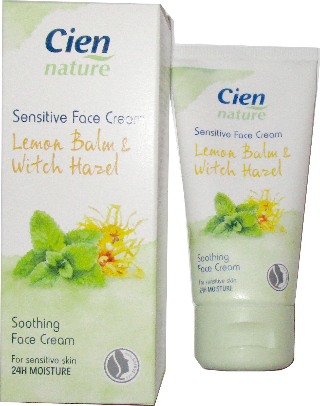 Cien Nature Sensitiv-Creme Melisse & Hamamelis, Natrue-Label