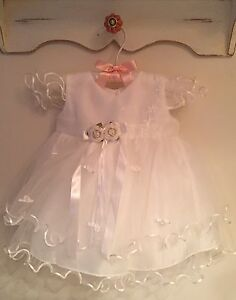 Beautiful formal baby dress 0-3 months