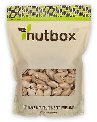 Nutbox Roasted Salted Turkish Pistachios (Antep) 24 oz, Premium Quality, Ligh...