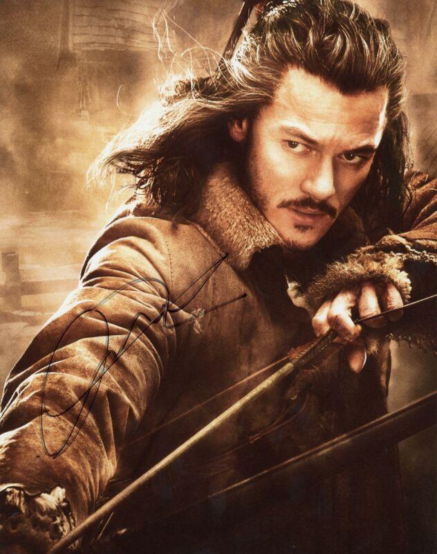 """Luke Evans """"The Hobbit"""" AUTOGRAPH Signed 8x10 Photo C"""