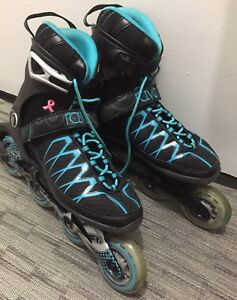 Abec 5 women's rollerblades. Like new, size 8