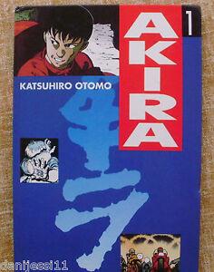 Comic-Akira-1-a-3-1990-Ediciones-B-Dragon-Comics-Tebeos-Glenat