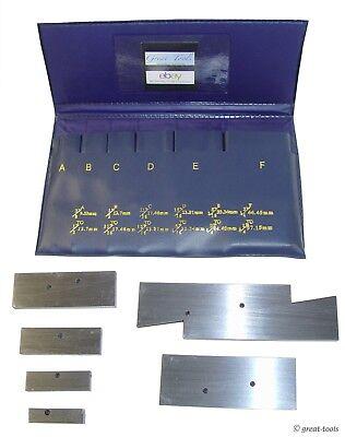 Adjustable Machinests Parallel Set 38 To 2-14 Range Measuring Tools