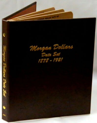 Dansco Album 7171 Morgan Dollar Date Set 1878-1921  Book