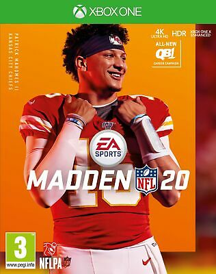 Madden NFL 20 (Xbox One) Brand New & Sealed UK PAL Free UK P&P