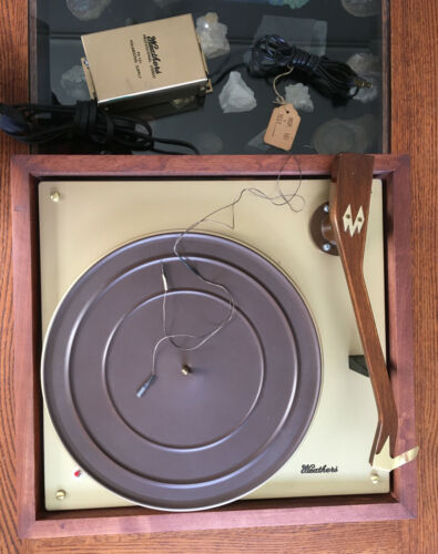 Weathers Tonearm Preamp turntable Amazing condition