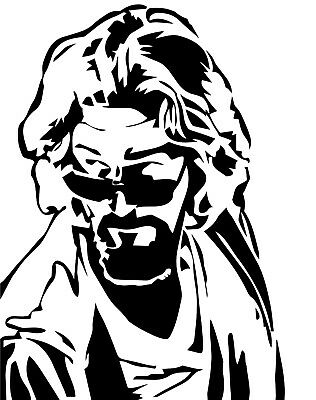 Big Brother Sticker - The Dude vinyl decal sticker Big Lebowski cult cohen brothers