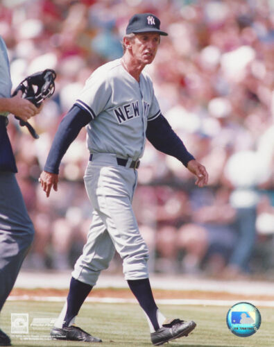 The late New York  Yankee Manager Billy Martin 8x10 color photo