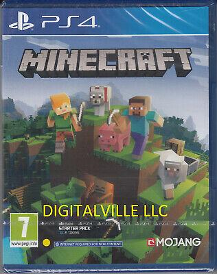 Minecraft PS4 Bedrock Brand New Factory Sealed PlayStation 4