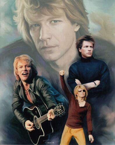Jon Bon Jovi UNSIGNED 8x10 Photo Collage (A)