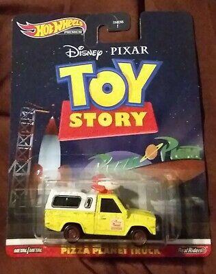 NEW Pizza Planet Truck Toy Story Disney Pixar 2020 HotWheels Retro Entertainment