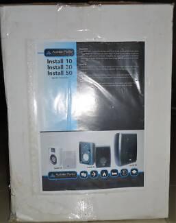 Pair of Australian Monitor Install Series 50watt RMS Speakers
