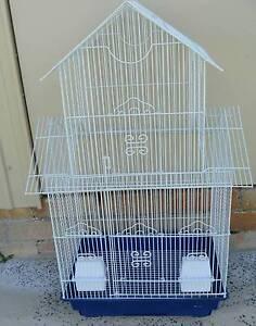 White Bird Cage with blue tray Uralla Uralla Area Preview