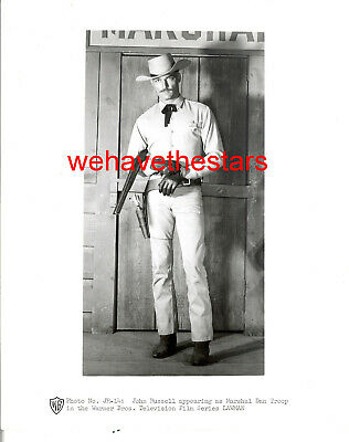 Vintage John Russell SEXY HANDSOME '50s LAWMAN Publciity Portrait