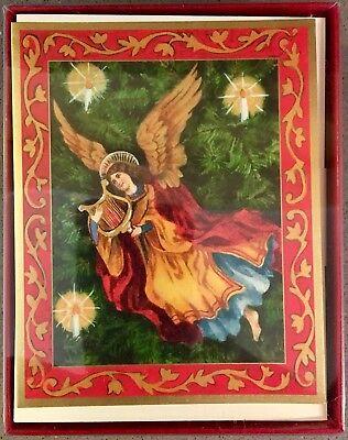 Box of 20 Vintage CASPARI Christmas Cards NEW Old Stock