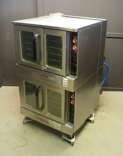 Southbend G Series Marathoner Gold Double Stack Convection Oven Natural Gas