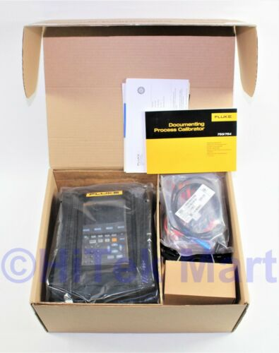 NEW Fluke 754 Documenting Process Calibrator-Hart w/ Case & Test Probes MFD 2020