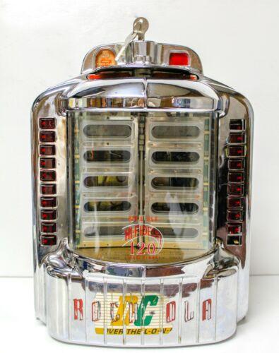 Vintage Rock-Ola Table or Wall Jukebox