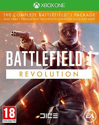 Battlefield 1: Revolution Edition (Xbox One) NEW & SEALED Fast Dispatch