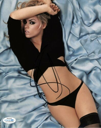 Billie Piper Sexy Doctor Who Autographed Signed 8x10 Photo ACOA  2020-6