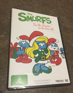 The Smurfs - Christmas DVD Special (Brand New)!