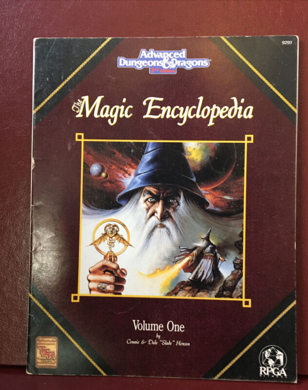 The Magic Encyclopedia Volume One - Advanced Dungeons & Dragons 2nd Edition TSR