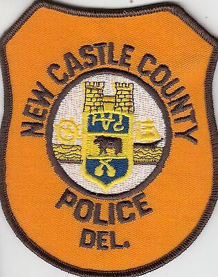 NEW CASTLE COUNTY POLICE DELAWARE DE SHOULDER PATCH