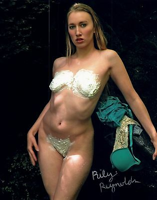 Riley Reynolds Adult/Fetish Film Star Signed Photo #22 Bang Bros. Racy Angel (Angel Fetish Star)