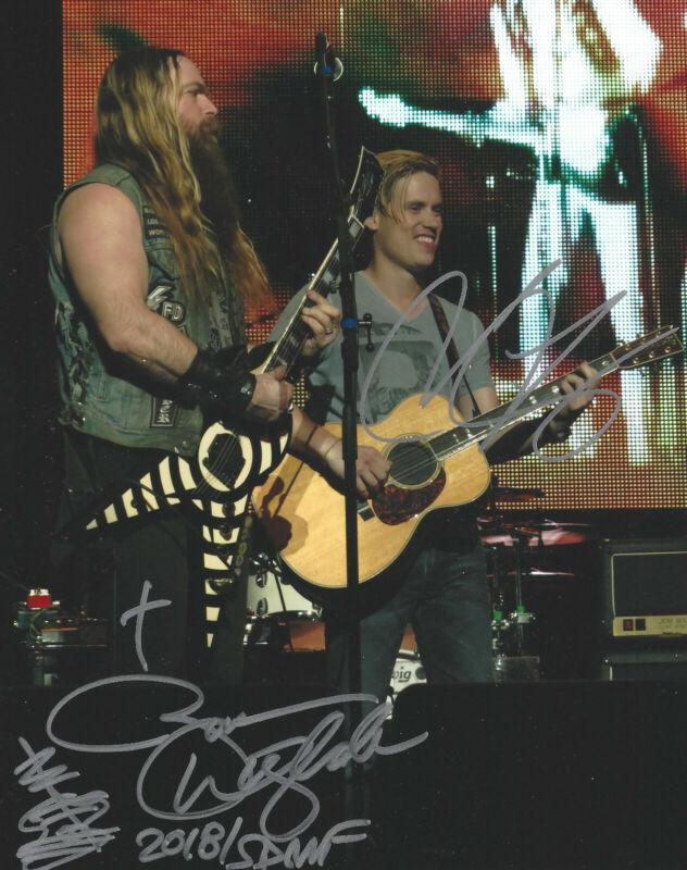 Zakk Wylde Jonny Lang - Signed original 8x10 concert photo signed by both