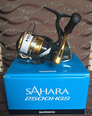 Shimano Sahara 2500HGS FI Spinnrolle