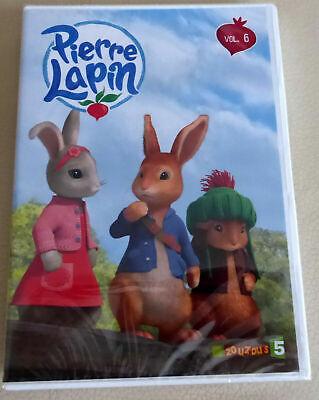 !!! DVD NEUF - PIERRE LAPIN vol. 6 : 14 épisodes !!!
