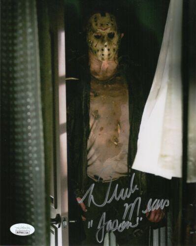 "Derek Mears Autograph Signed 8x10 Photo - Friday the 13th ""Jason"" (JSA COA)"