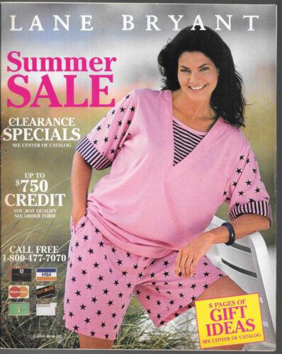 Lane Bryant Summer Sale 1995 Lingerie Fashion Catalog