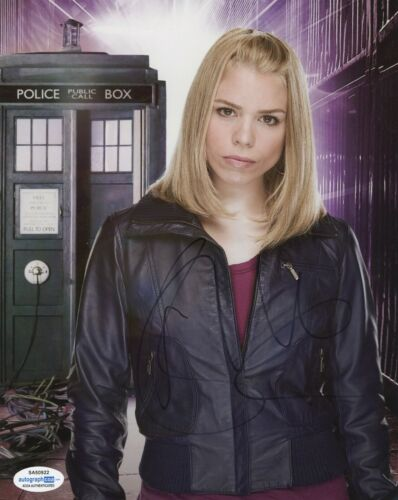 Billie Piper Doctor Who Autographed Signed 8x10 Photo COA