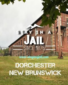 Spend a night in The Dorchester Jail BNB #1 on AirBNB adventure