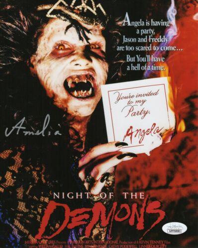 Amelia Kinkade Autograph Signed 8x10 Photo - Night of the Demons (JSA COA)