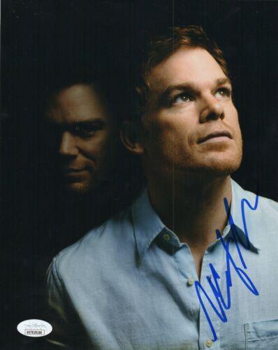 """Michael C Hall Autograph Signed 8x10 Photo - Dexter """"Dexter"""" (JSA COA)"""