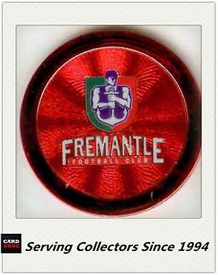 2009 Topps AFL Chipz Premium Red Club Logo Chipz Fremantle (1)