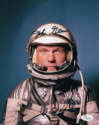 John Glenn NASA Astrounaut Autographed 8x10 Photo Reprint Mercury Senator
