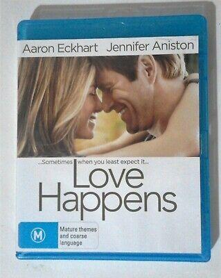 Love Happens BLU RAY Starring Jennifer Aniston Aaron Eckhart