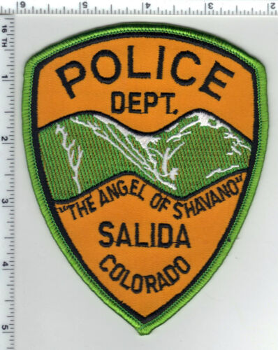 Salida Police (Colorado) Shoulder Patch - new from the 1980