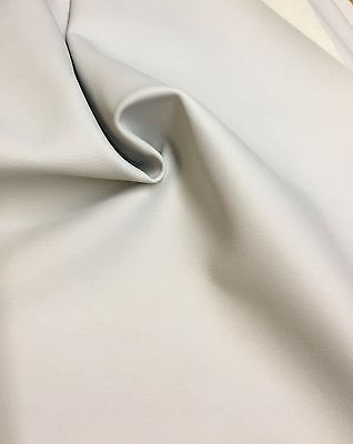 BEAUTIFUL NATURAL FAUX LEATHER  FABRIC 1.9 METRES