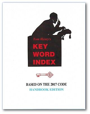 Key Word Index based on the 2017 NEC Code (Handbook-Hardcover), by Tom Henry